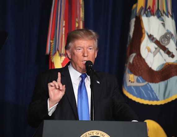 Trump won't withdraw troops from Afghanistan
