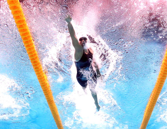 Katie Ledecky just dominated the World Championships