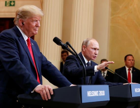 Republicans defend Trump over Putin remarks