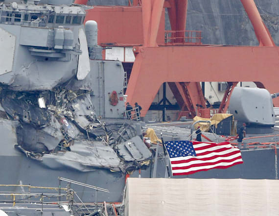 US warship stayed on deadly course after warning