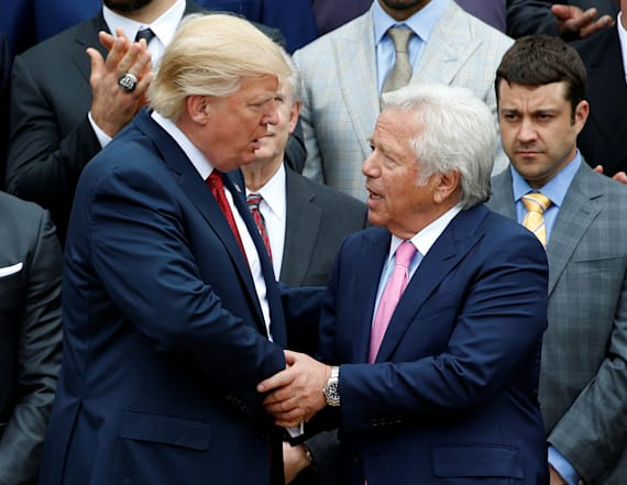 Patriots owner 'disappointed' with Trump's comments
