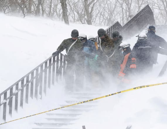 Eight killed as avalanche hits Japan ski resort