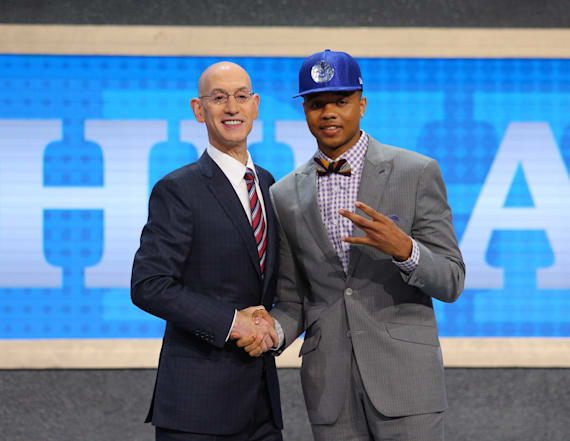 76ers take guard Fultz with top pick of NBA Draft