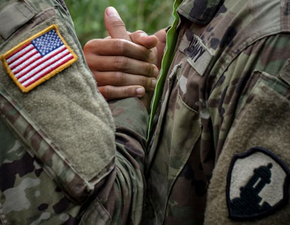 Army Reserve green card ban under scrutiny