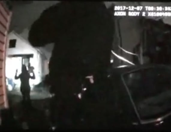 Body cam video shows young girl being detained