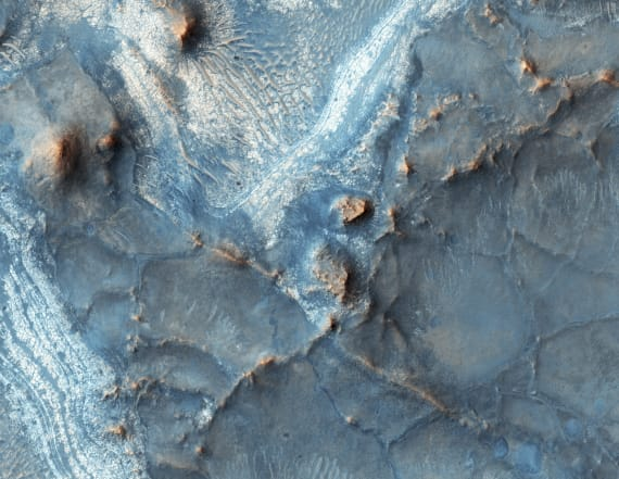 NASA discovers 'Niagara Falls' of lava on Mars