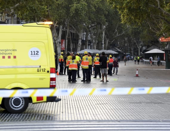13 dead, at least 50 injured in Barcelona van attack