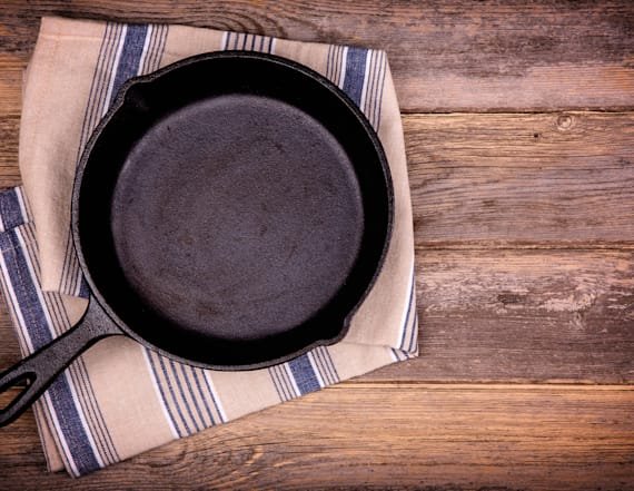 Never, ever cook this common food in a new skillet