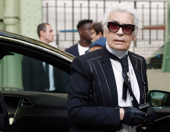 Karl Lagerfeld skewers Merkel in political cartoon