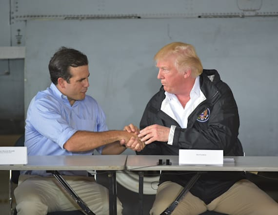 Trump, Puerto Rico governor to discuss hurricane aid