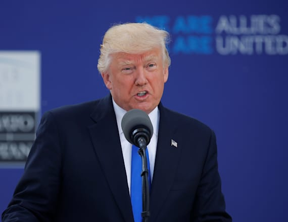 Trump scolds NATO allies