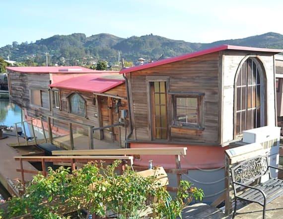Shel Silverstein's houseboat hits market