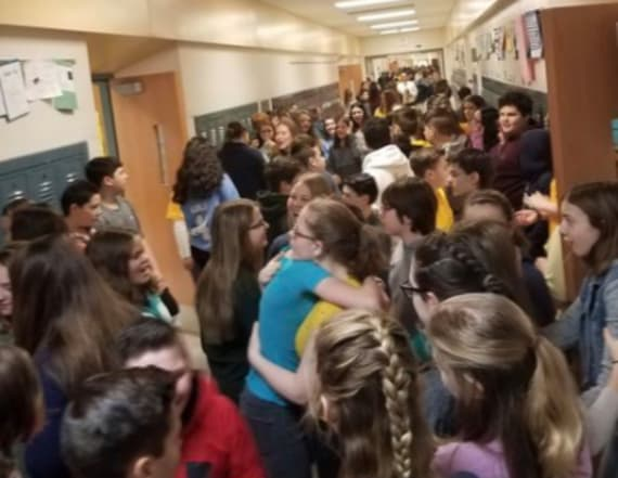 Students took different approach to walkouts