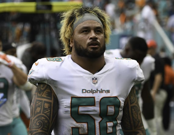 Dolphins to release Maualuga after battery arrest