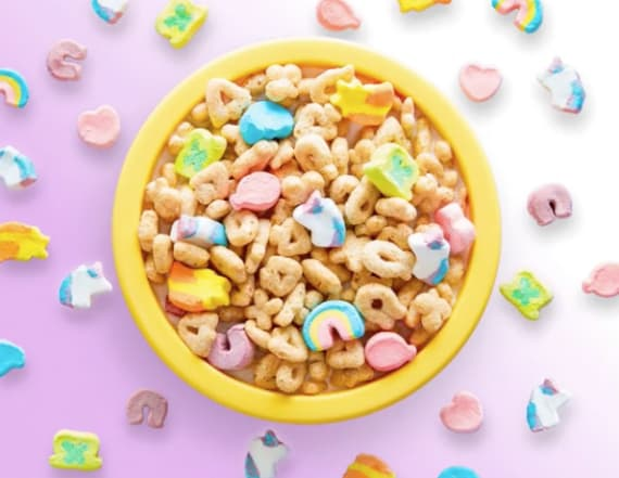 Lucky Charms adds magical new marshmallow