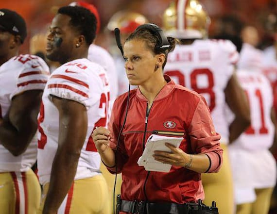 Niners coach becomes NFL's first openly LGBT coach