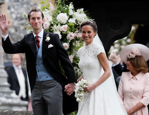 Pippa and James looked loved up on honeymoon
