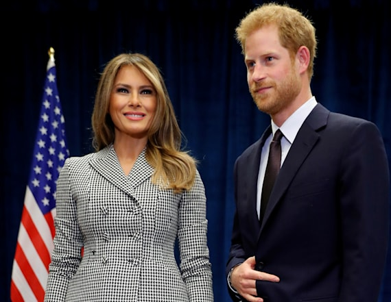 Melania Trump invites Prince Harry to White House