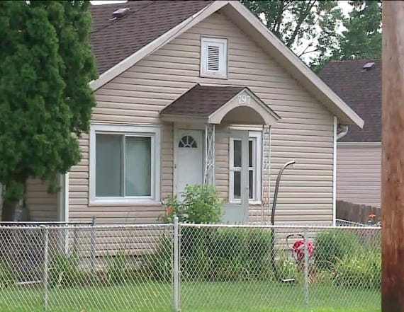 Two men found shot to death in driveway of home