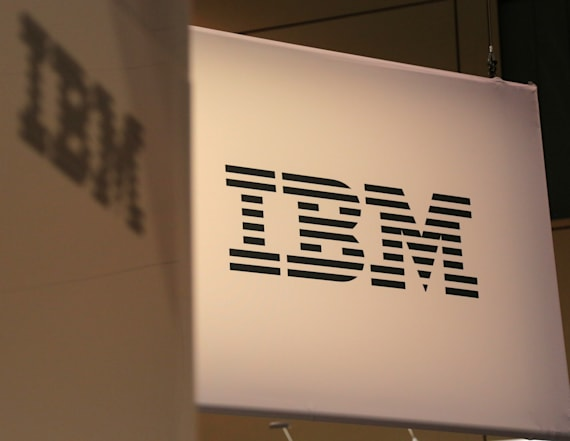 IBM slides despite reporting profit growth