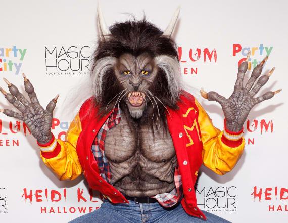 Crazy makeup looks from Heidi Klum's Halloween Bash