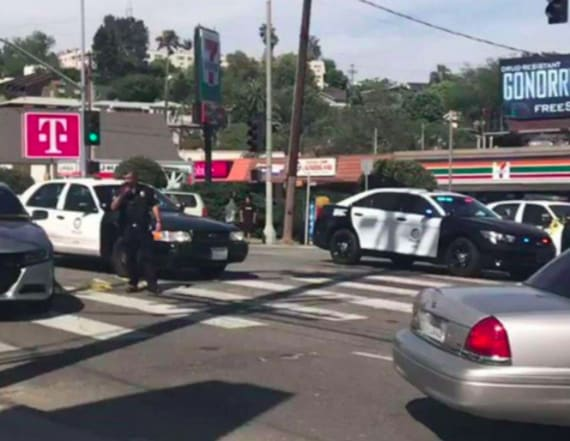 Gunman arrested after standoff at Trader Joe's store