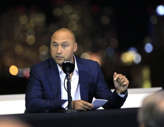 Derek Jeter insults interviewer in tense exchange