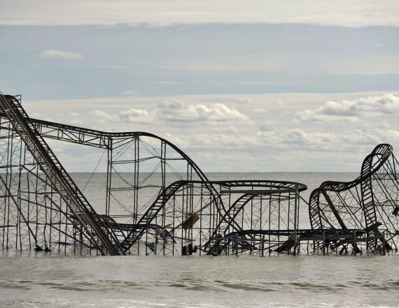 New Jersey roller coaster back in action after Sandy