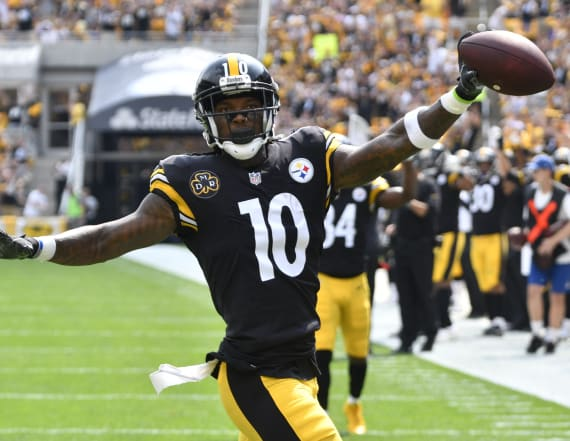 Steelers wideout reportedly demands trade