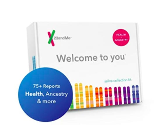 23andMe's Genetics + Health DNA kit Prime Day deal