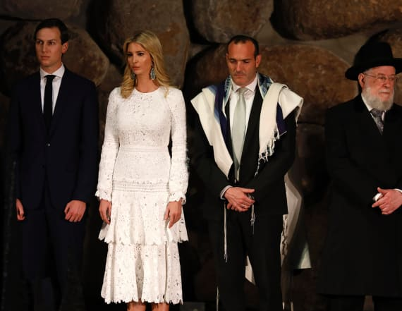 Rabbi close to Ivanka slams Trump's rhetoric