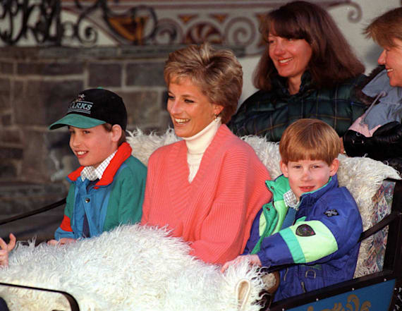 William and Harry would slip Diana 4-word notes