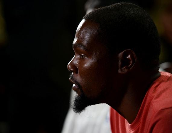 Fans allege NBA star has secret Twitter account