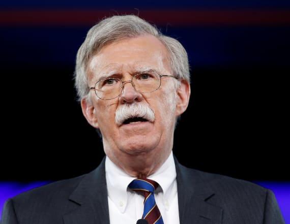 John Bolton chairman of anti-Muslim group