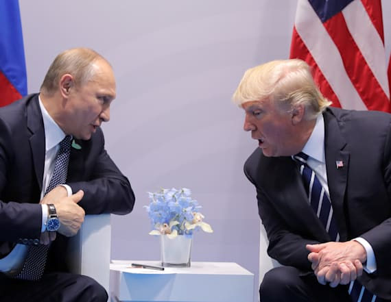 Putin fed Trump a new theory about Russian hackers