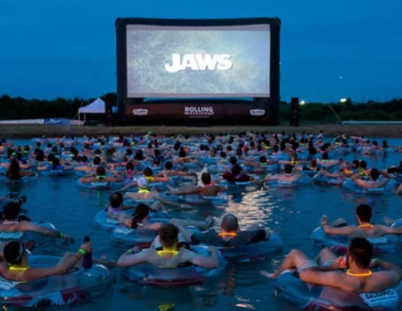 For $55, you can watch 'Jaws' on open water