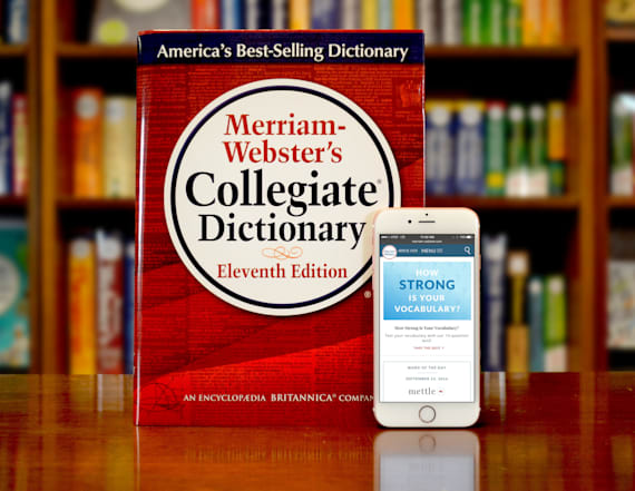 Merriam-Webster reveals its Word of the Year