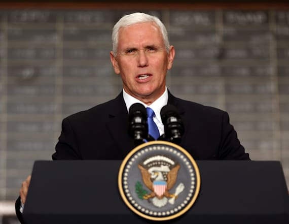 Pence breaks silence on Trump's Virginia remarks