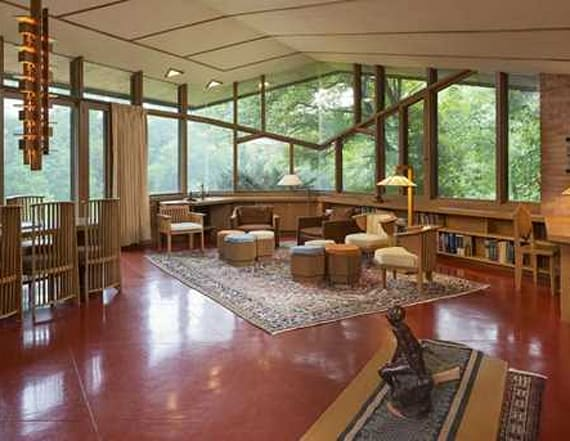 Rare Frank Lloyd Wright home listed for $1.4M