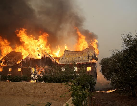 10 dead as wildfires scorch northern California