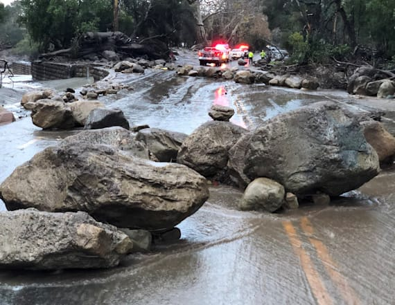 At least 13 killed in California mudslides