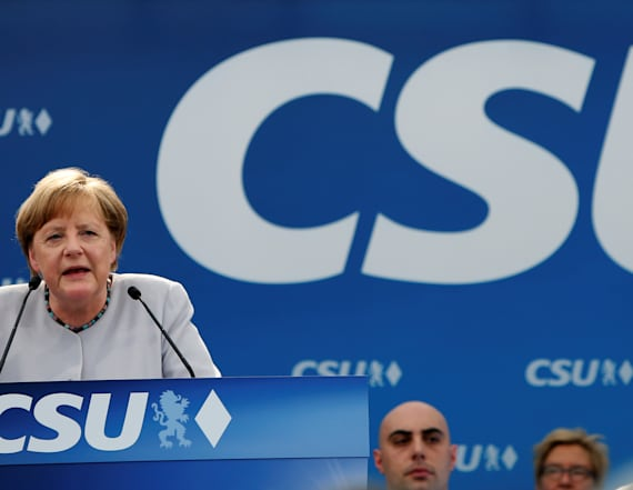 Merkel says Europe must take fate into own hands