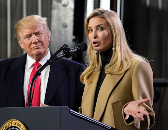 WH report: Ivanka Trump sees in dad a 'genius'