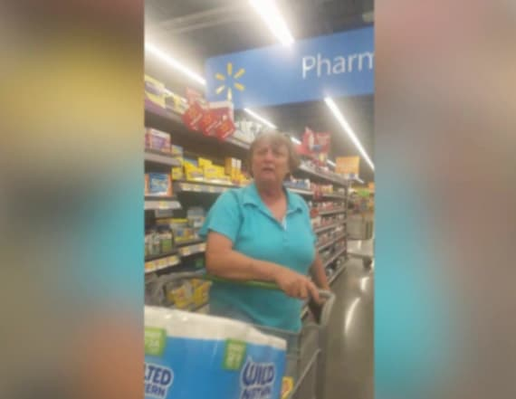 Woman caught on camera making racist comments