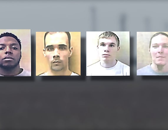 4 inmates charged with murder after attempted escape