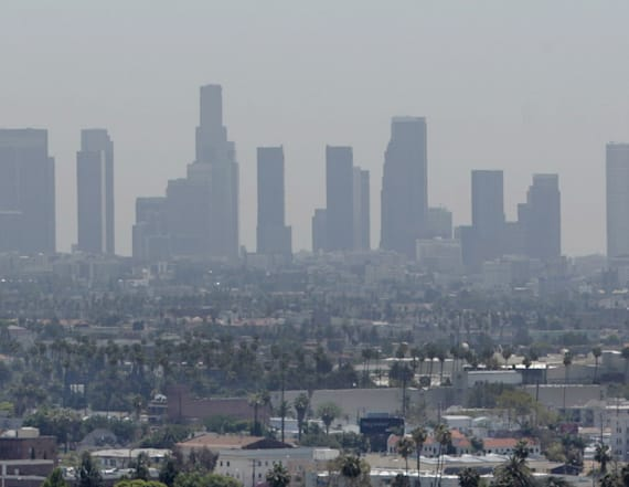 US state has the worst air quality in the country