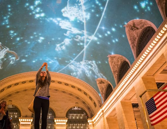 Women in STEM honored with stunning display