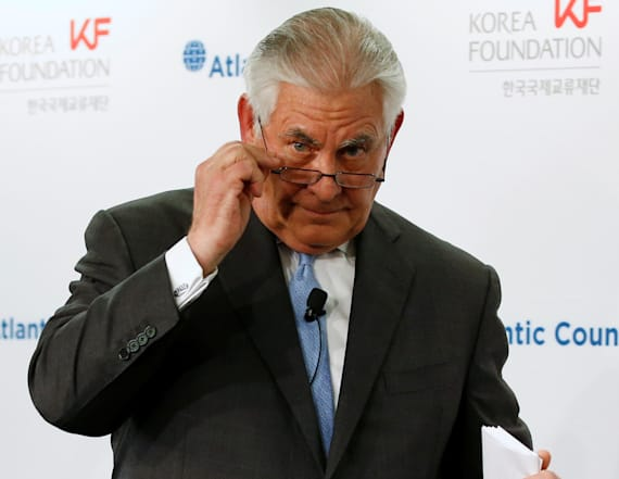Tillerson takes new stance on N. Korea talks