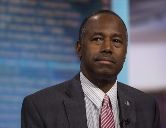 Ben Carson's home smeared with anti-Trump rhetoric