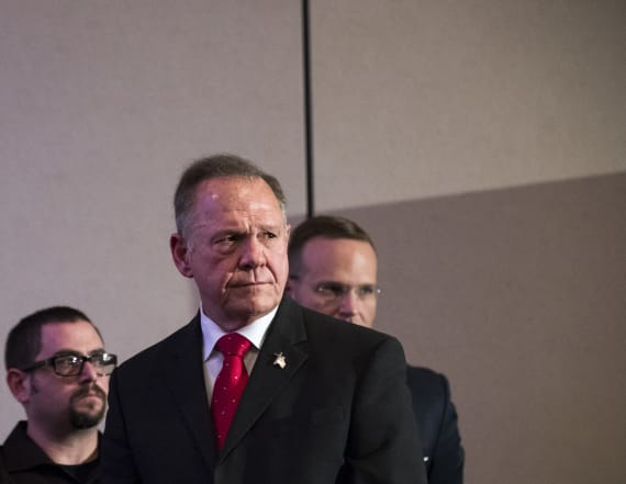 Moore spokesman resigns as accusations roil campaign